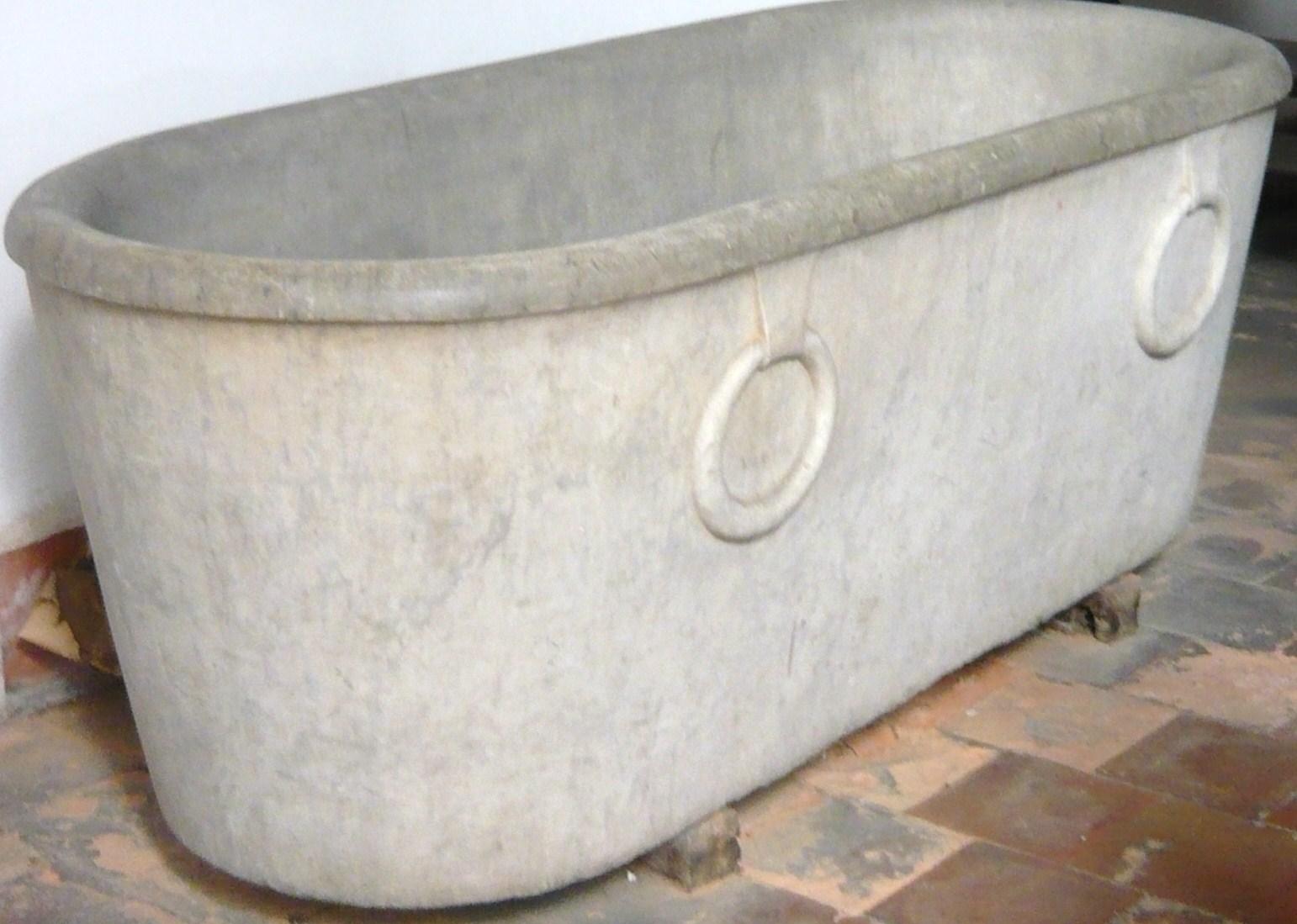 Tinas De Baño De Concreto:de los nuevos negros, de las tantas que tenían era llenar la tina