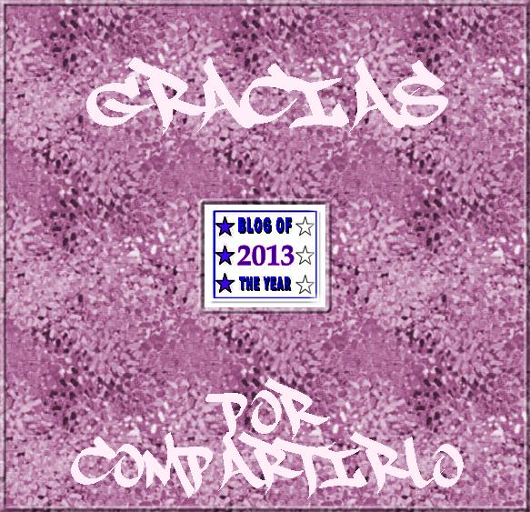 Blog del año 2013.