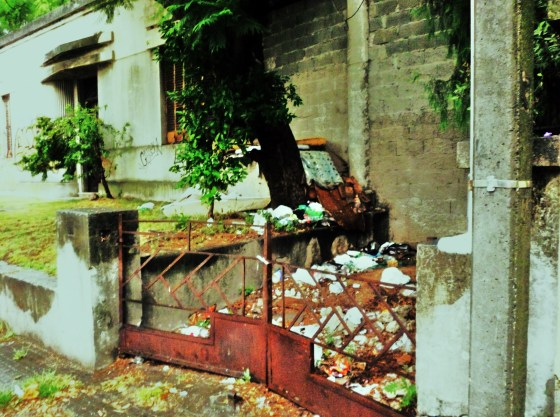 Foto de Stella. Serie Casas abandonadas.
