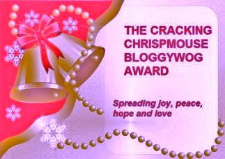 The Cracking Chrispmouse Bloggywog Award
