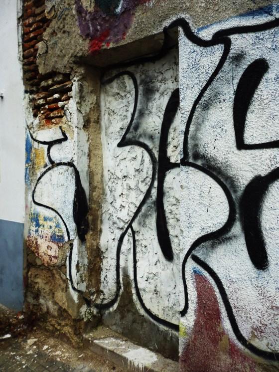 Foto de Stella. Serie Graffitis.