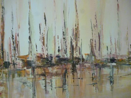 Pintura al óleo. Foto de Stella