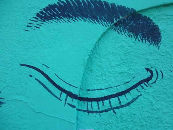 Foto de Stella. Serie Graffitis